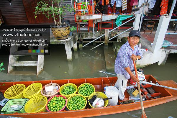 ตลาดน้ำบางน้อย สมุทรสงคราม