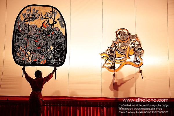หนังใหญ่ พิพิธภัณฑ์หนังใหญ่ วัดขนอน ราชบุรี