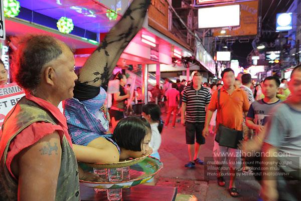 Pattaya Walking Street ถนนคนเดินพัทยา
