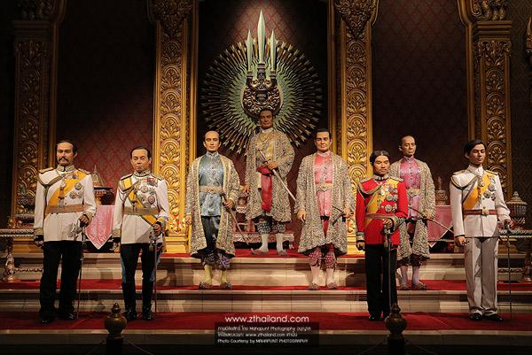พิพิธภัณฑ์หุ่นขี้ผึ้งไทย นครปฐม