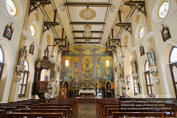 โบสถ์คริตส์วัดพระหฤทัย โบสถ์วัดเพลง