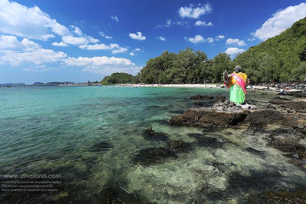 หาดนางรำ-หาดนางรอง สัตหีบ ชลบุรี