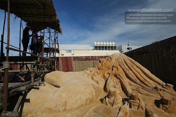 ปั้นทรายโลก มหกรรมปั้นทรายโลก World Sand Sculpture ฉะเชิงเทรา